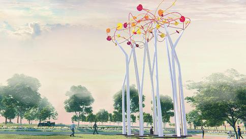 """媒体互动丨溧水新闻网报道丨新晋""""网红""""打卡点,15米高的律动森林、90米长的音乐长廊"""